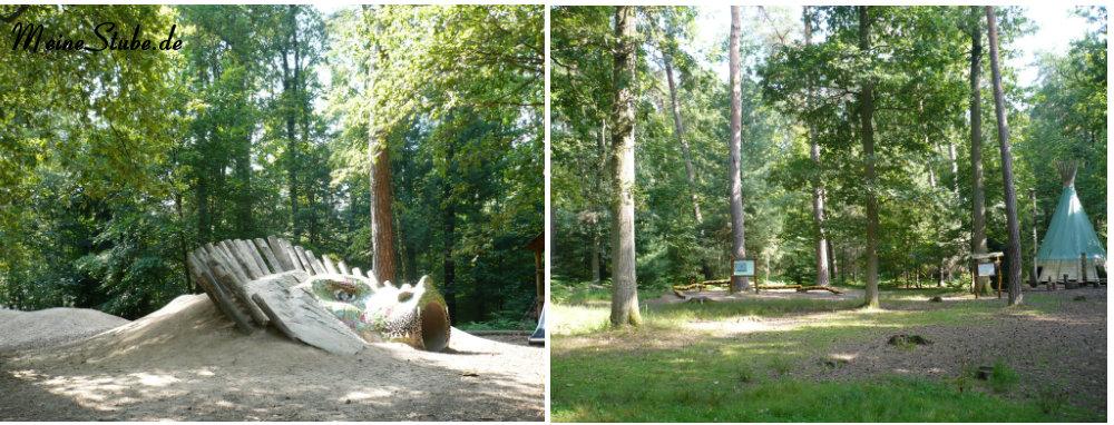 Spielplätze im Wildpark Fasanerie Hanau