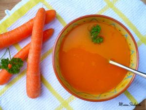 Karottensuppe Hilfe bei Durchfall und Bauchschmerzen