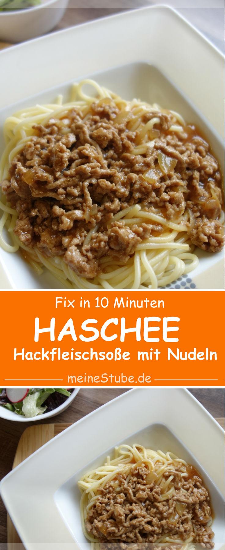 Haschee-fix-hackfleischsosse