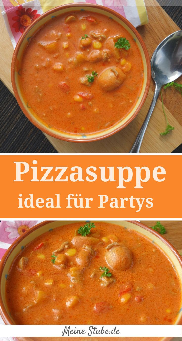 Pizzasuppe-rezept-party