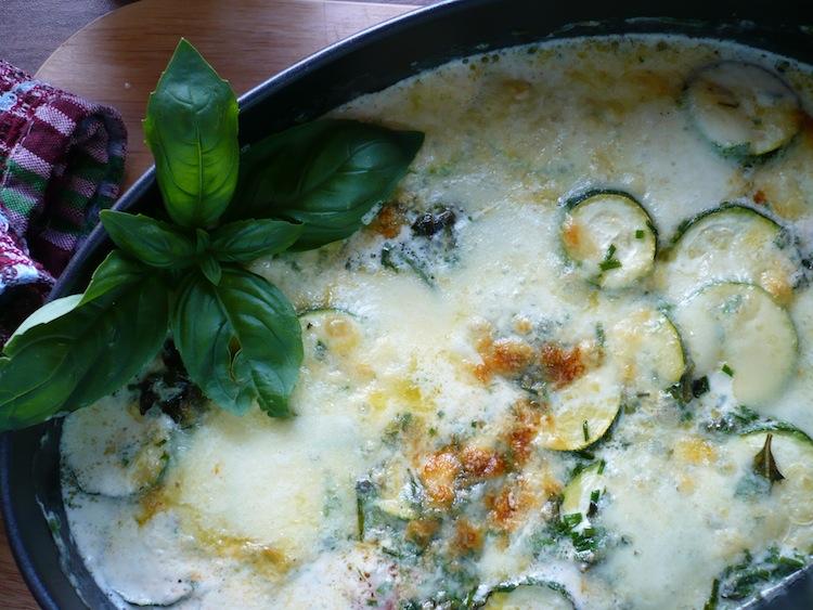 Zucchine Gratin Low carb