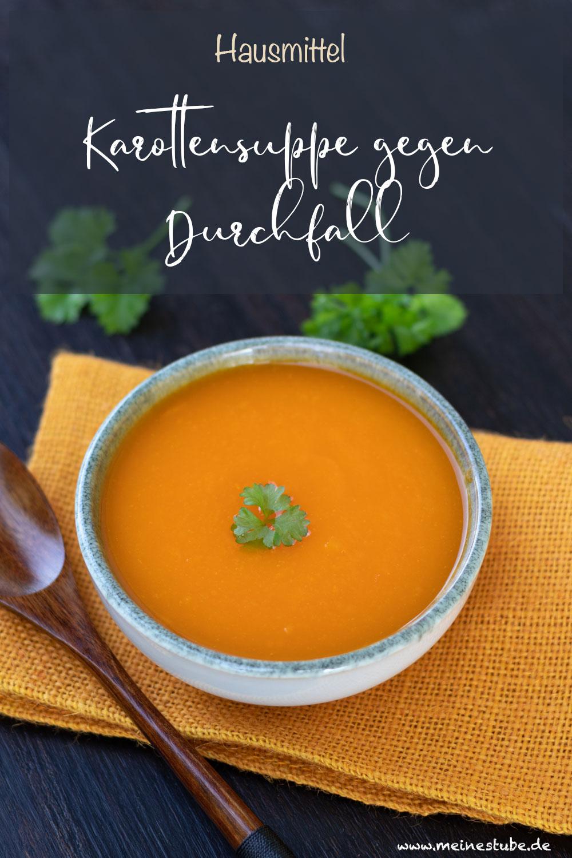 Karottensuppe püriert, meinestube