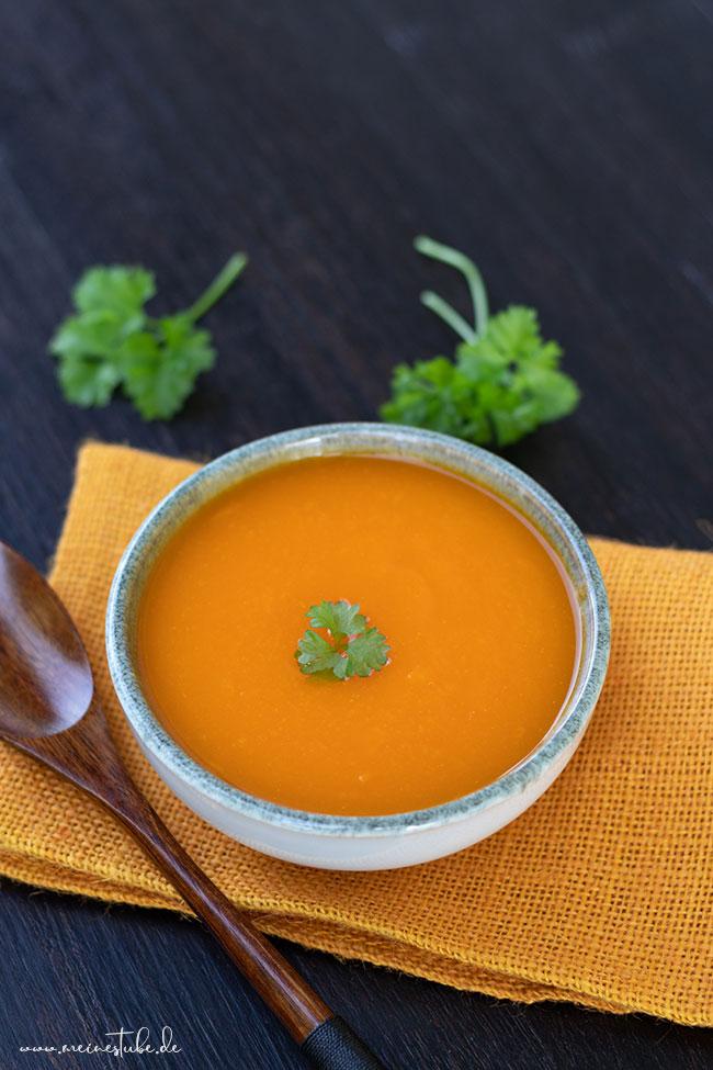Rezept für Karottensuppe die bei Durchfall helfen kann, meinestube