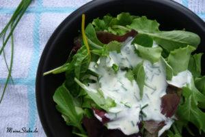 Gemischter Salat mit Schmand