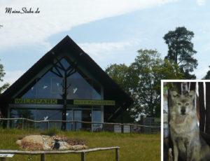 Haupteingang Wildpark Fasanerie in Hanau