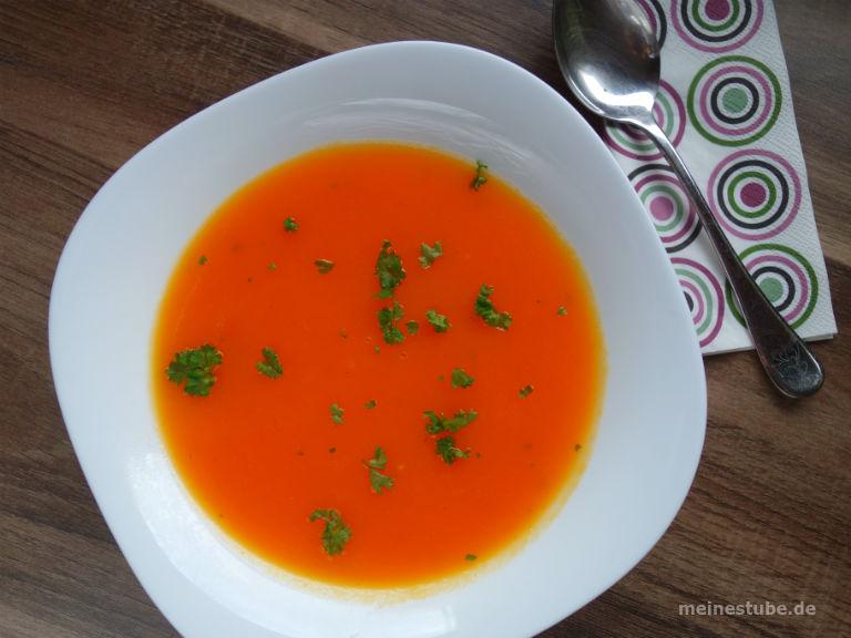 Karottensuppe ideal bei Durchfall oder Bauchschmerzen