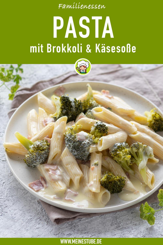 Pasta mit Brokkoli und Käsesoße, meinestube