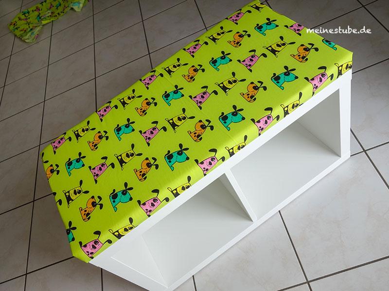 Ikea Hack Sitzbank bauen aus einem Kallax Regal, meinestube