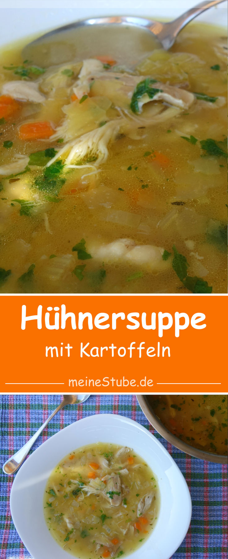 Hühnersuppe mit Kartoffeln mal anders