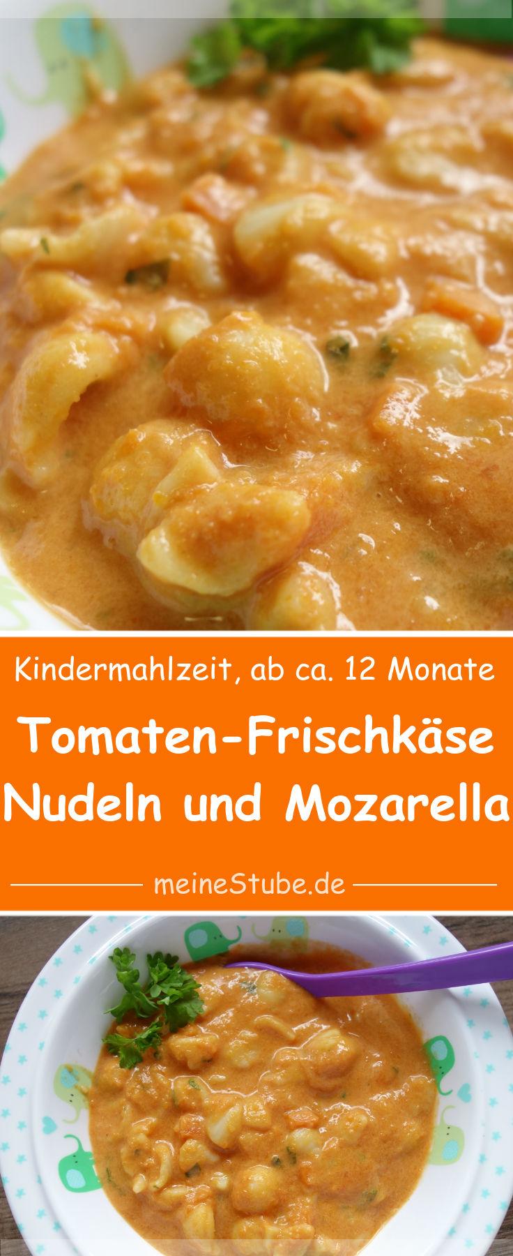 kindermahlzeit-Tomaten-Frischkaese-nudeln