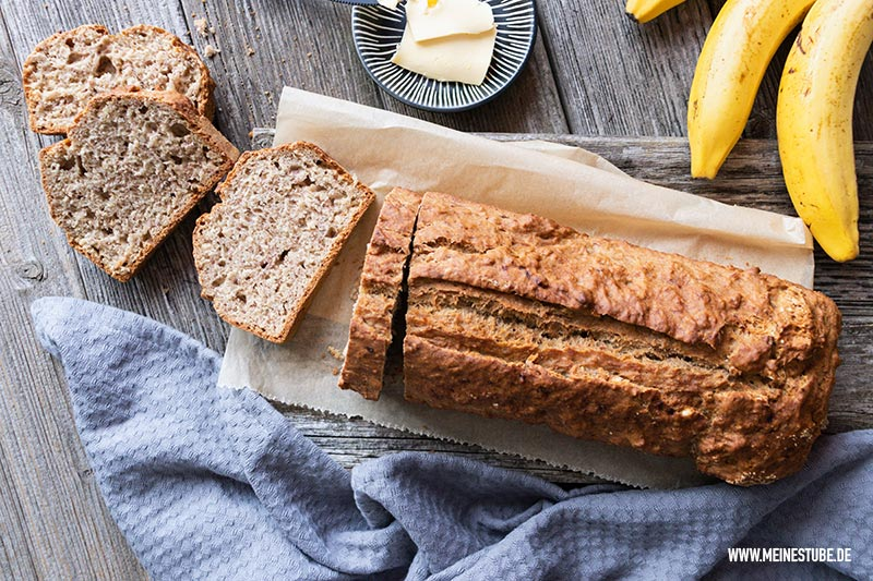 saftiges Brot mit Bananen, meinestube