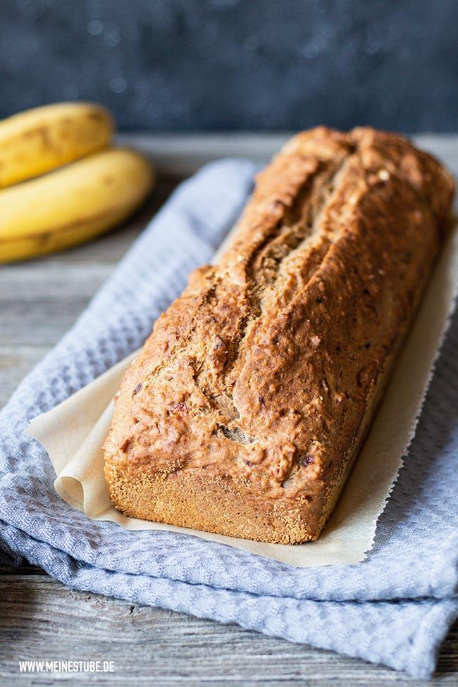 Brot mit Bananen ohne Zusatzstoffe, meinestube