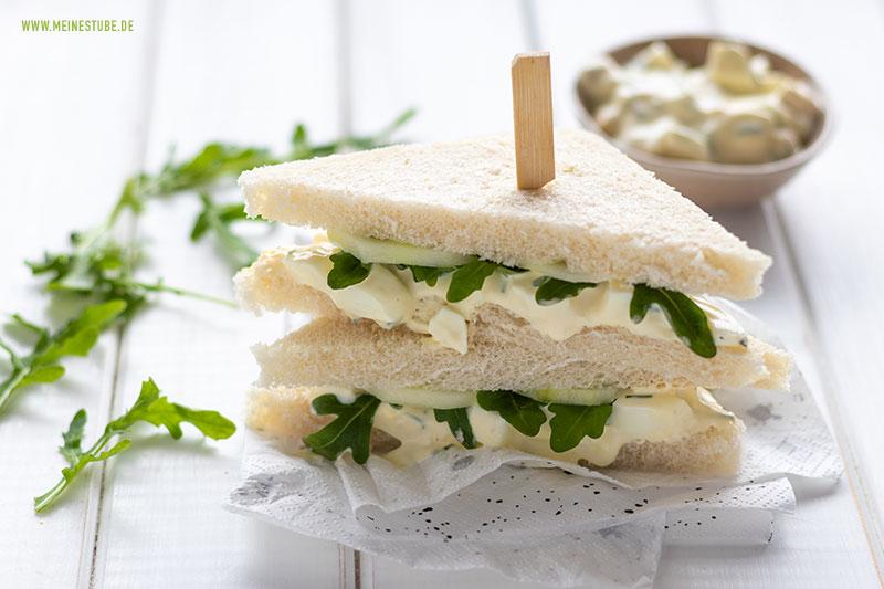 Gründe Sandwiches mit Eiercreme, meinestube