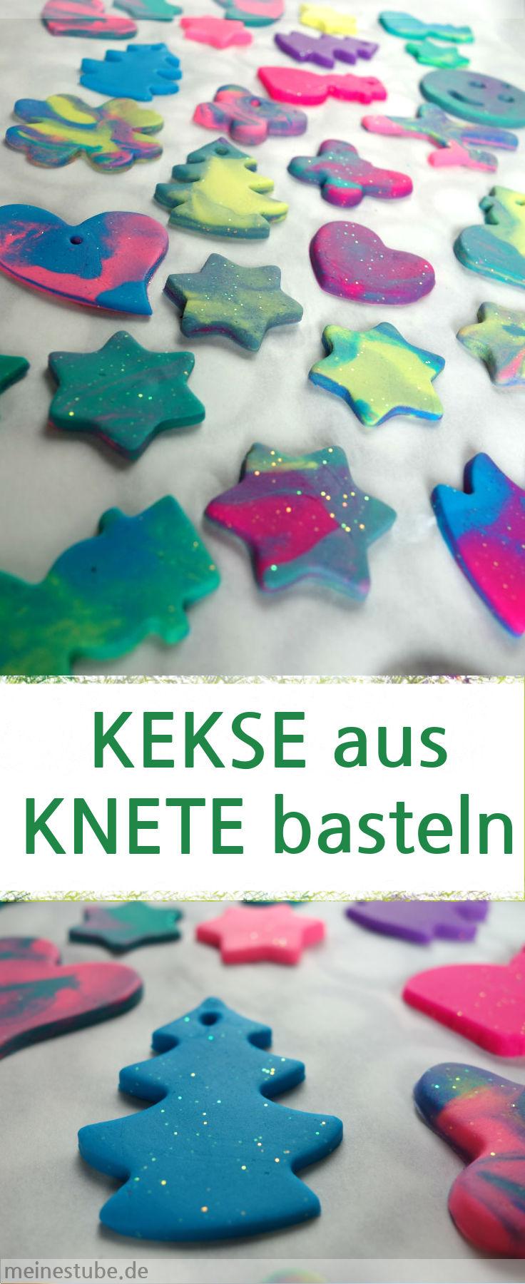 Geschenkidee, Kekse aus Knete