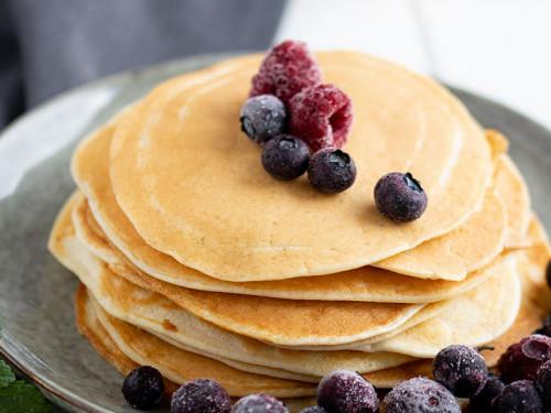 Omas Pfannkuchen, schön luftig und fluffig, meinestube