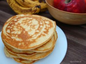 Pfannkuchen nach Omas Rezept. Ideale Kindermahlzeit.