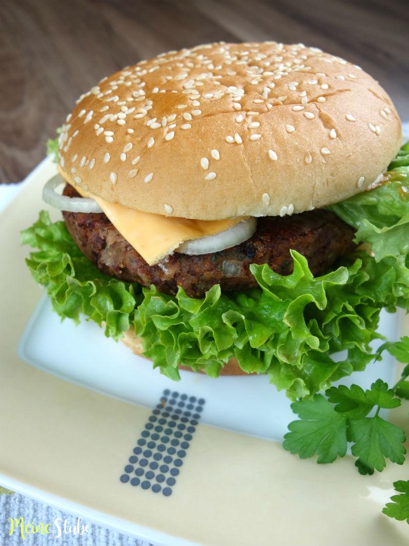 Rezept für ein Bohnenburger