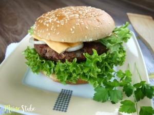 Rezept von Meinestube für einen Bohnenburger