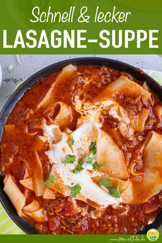 Lasagne-suppe Rezept von meinestube