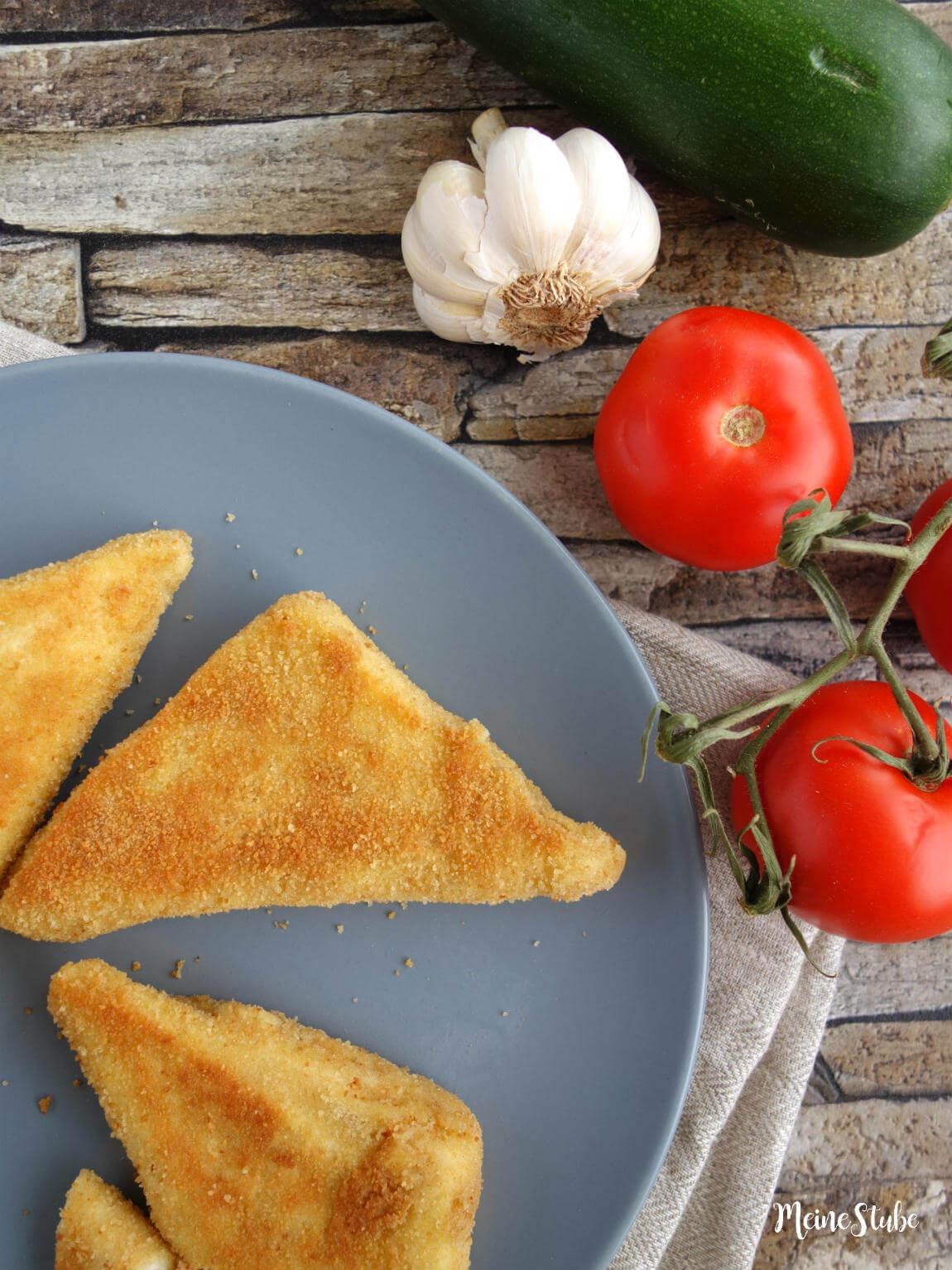 Rezepte für panierte Zucchini-Taschen