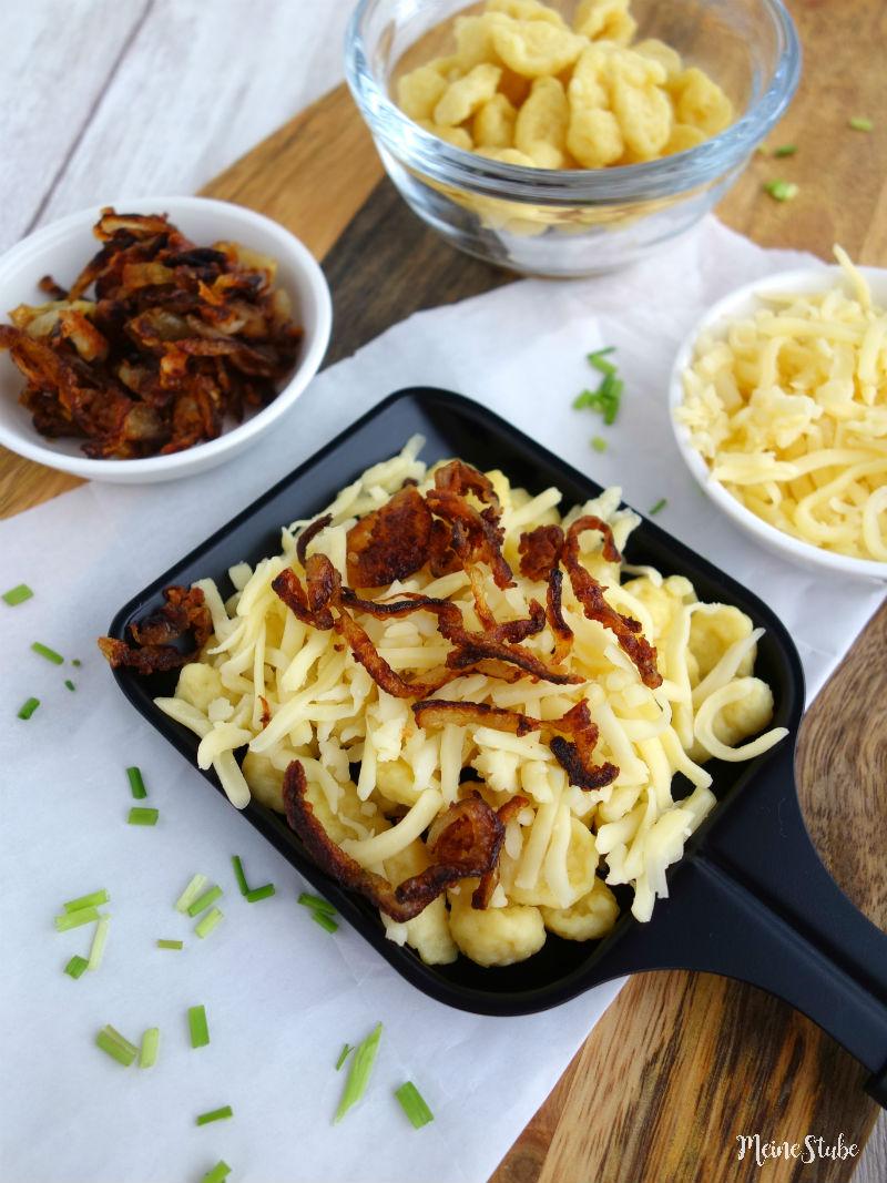 Raclette Idee für Käse-Pfännchen