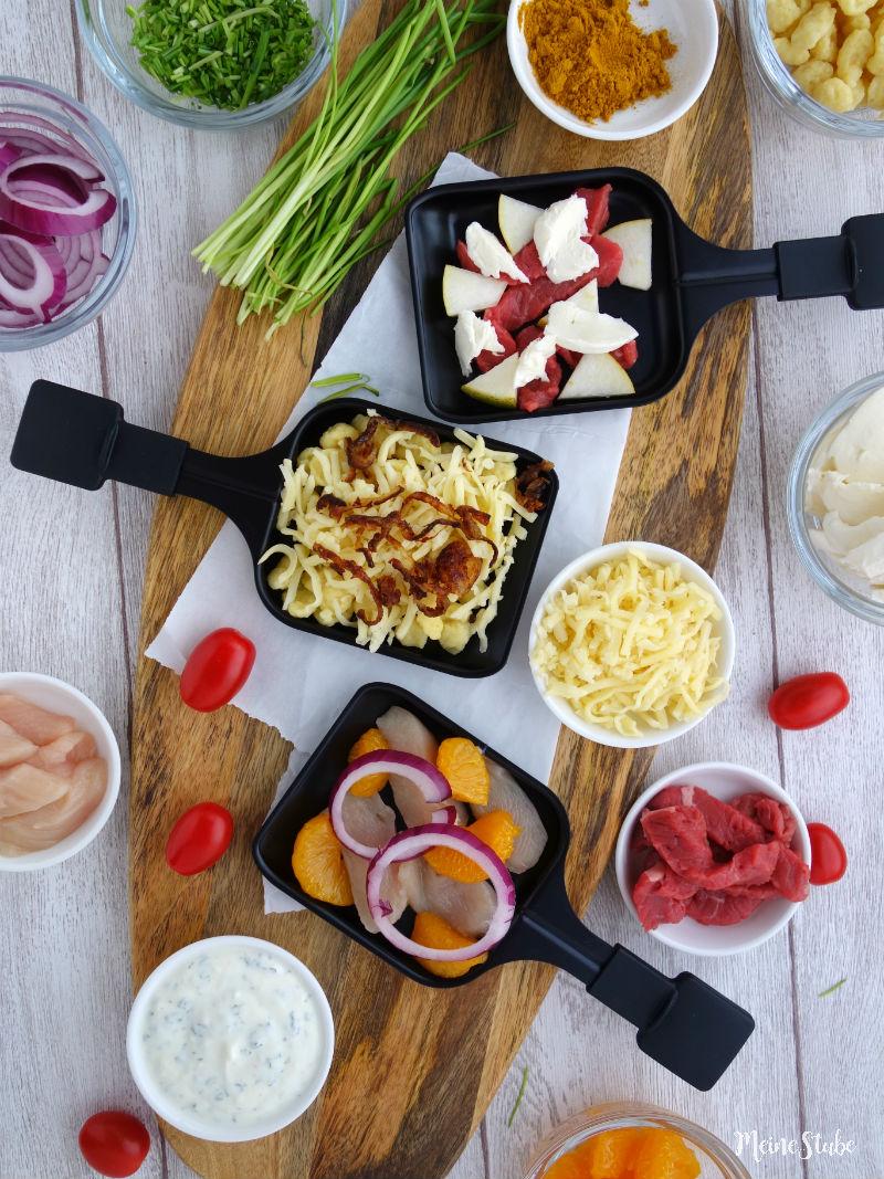Raclette-Ideen für das gemütliche Raclette