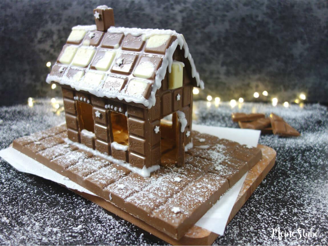 Traumhaus aus Schokolade bauen