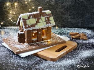 Bastel dein Schokohaus aus Schokotafeln