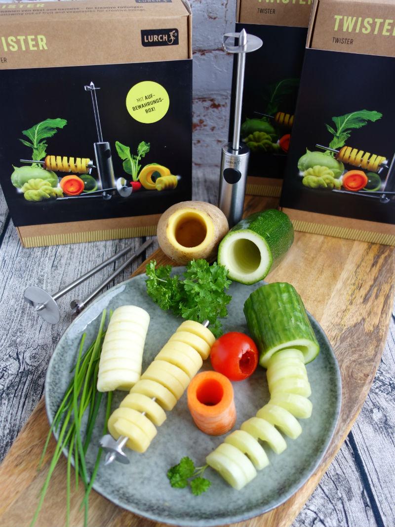 Gewinne einen Gemüseaushöhler Twister