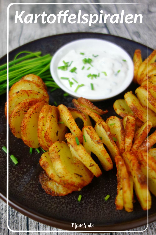 Kartoffelspiralen aus dem Backofen
