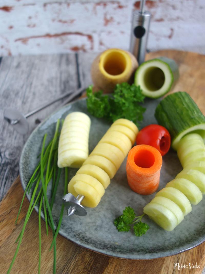 Twister Gemüse aushöhlen mit Lurch