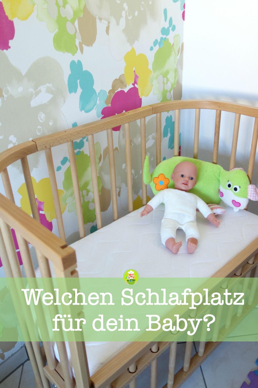 Welchen Schlafplatz für dein Baby. Beistellbett