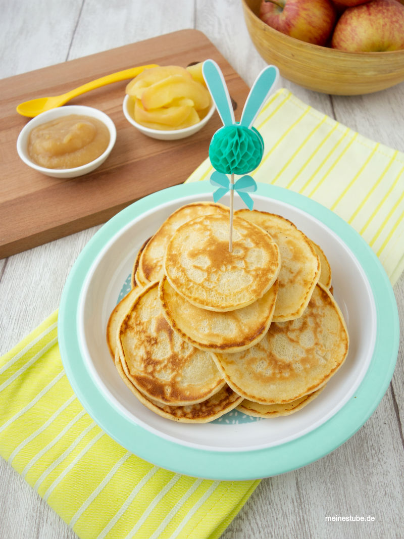 Baby-Pancakes mit Buttermilch
