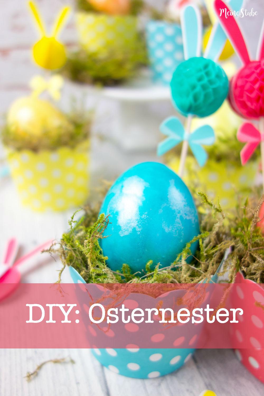 DIY Osternester Ostern bei meinestube