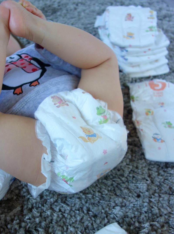 HiPP Babysanft Windel schön angenehm weich
