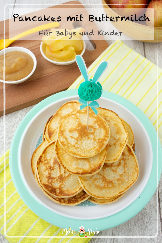 Rezept für Pancakes mit Buttermilch für Babys und Kleinkinder
