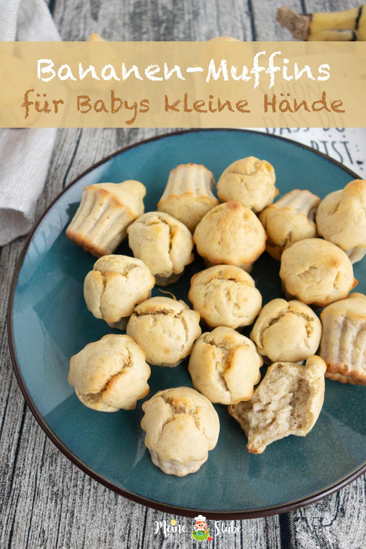 Rezept für Baby Bananen-Muffins.