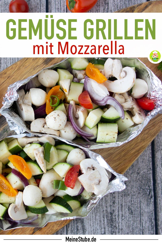 Gemüse-Päckchen in Alufolie zum Grillen mit meinestube
