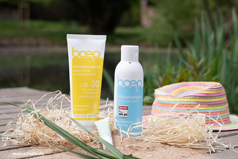 Gewinnspiel für ein Sommerset mit Naturprodukte von das boep mit Meinestube