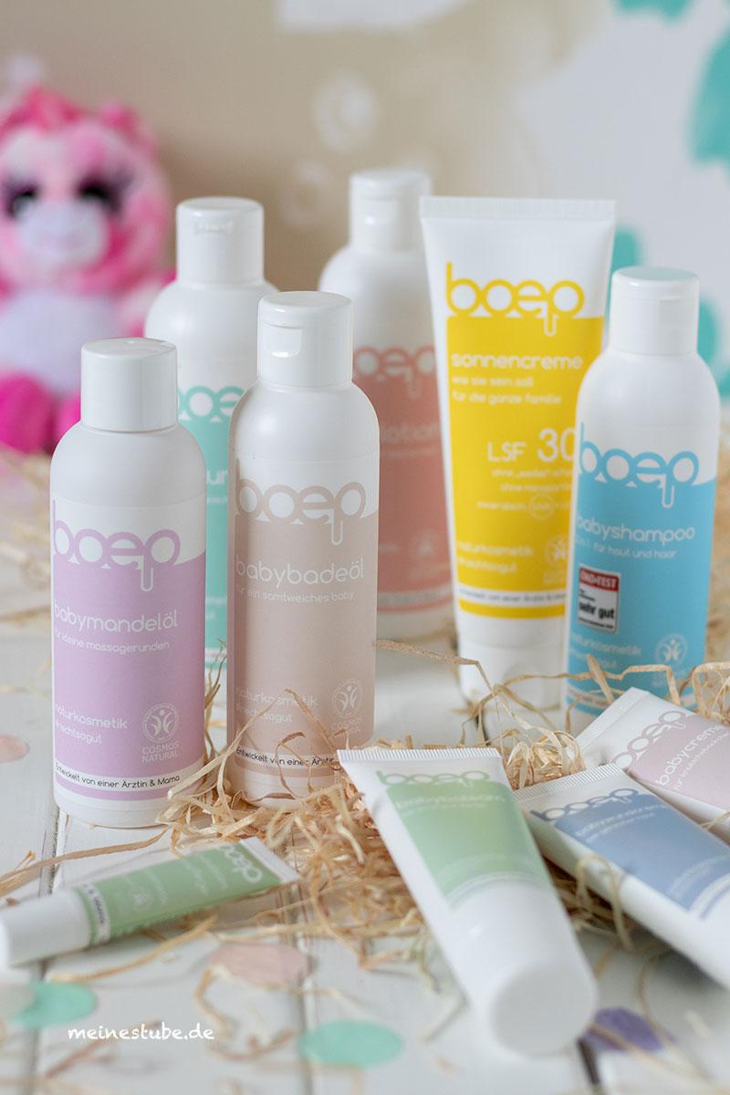 Für Babys Pflege nur Produkte mit natürlichen Inhaltsstoffen, meinestube