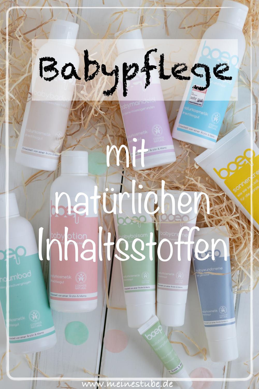 Babypflege mit natürlichen Inhaltsstoffen