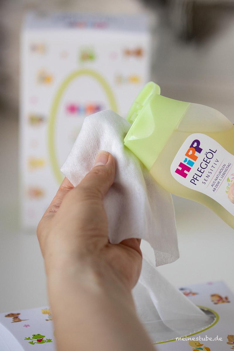 HiPP trockene Tücher perfekt zum abschminken, meinestube