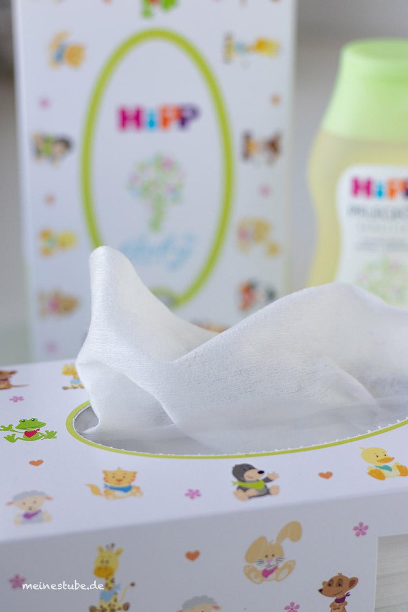 Hipp trockene Tücher schön weich, meinestube