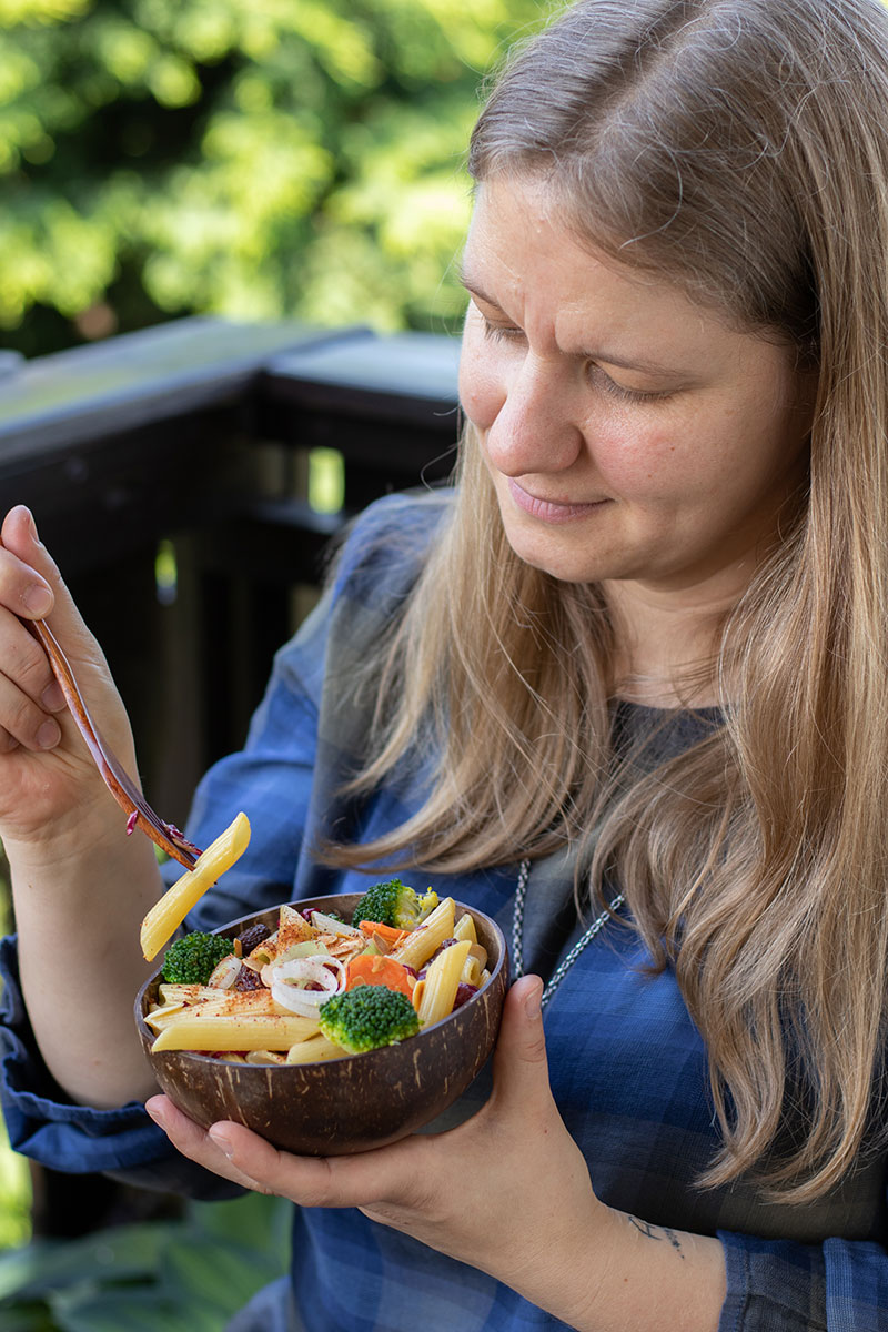SONNENTOR Rezept für Pasta Salat