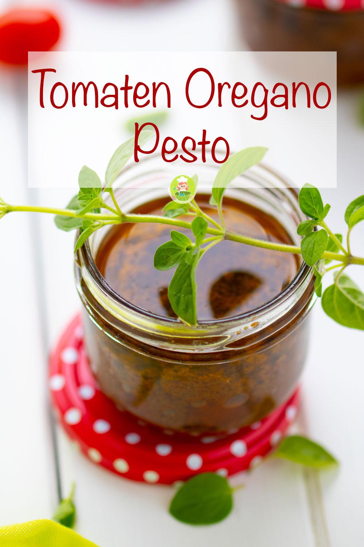 Rezept für Tomaten Oregano Pesto