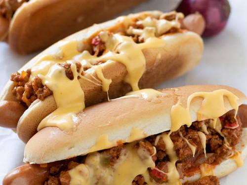 Rezept für einen Hot Dog mit Hackfleisch, Meinestube