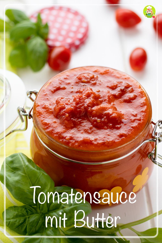 Rezept für Tomatensauce mit Butter, meinestube.de