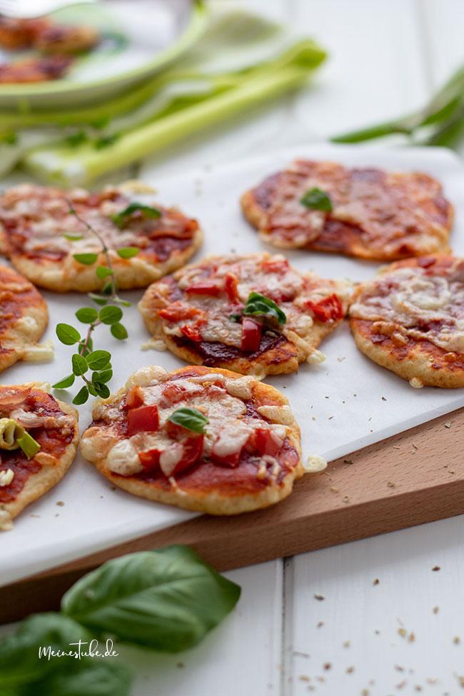 Pizzateig mit Quark-Ölteig für Babys und Kleinkindern, meinestube