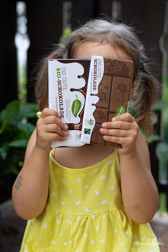 Du gute Schokolade als Bio Schokolade, meinestube
