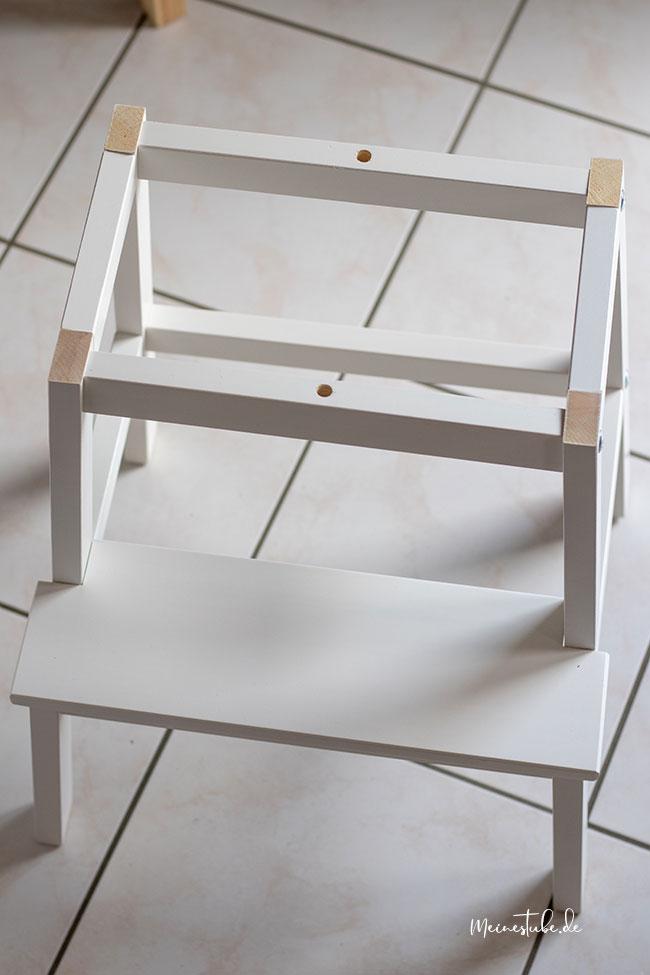 Tritthocker ohne Sitzfläche, meinestube